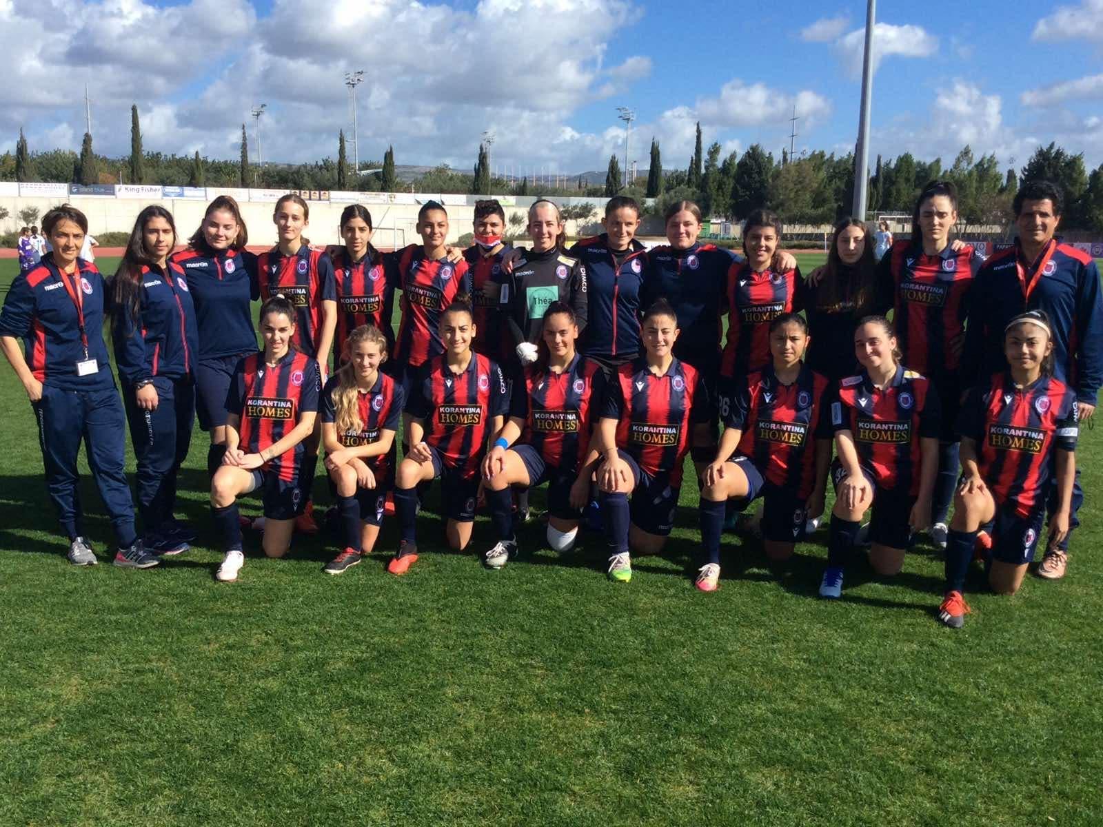 Ήττα και τιμητική 5η θέση για τις Ladies της Γεροσκήπου FC