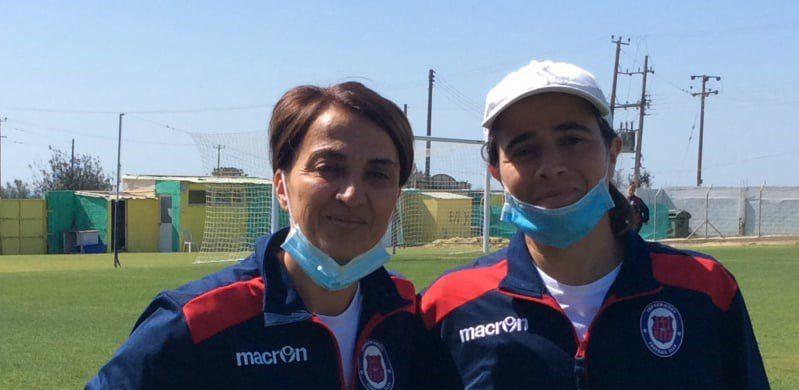 """Τζιοβάννα και Ιουλία """"χτίζουν"""" το μέλλον των Ladies της Γεροσκήπου FC"""